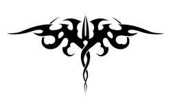 Абстрактная татуировка черно-белая Стоковое фото RF