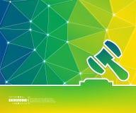 Абстрактная творческая предпосылка вектора концепции Для сети и передвижных применений, дизайн шаблона иллюстрации, дело Стоковая Фотография RF