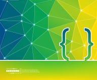 Абстрактная творческая предпосылка вектора концепции Для сети и передвижных применений, дизайн шаблона иллюстрации, дело Стоковая Фотография