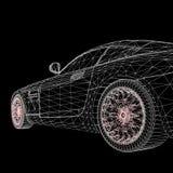 Абстрактная творческая предпосылка вектора концепции 3d Стоковое Фото