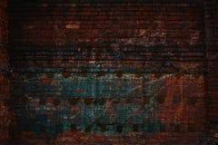 Абстрактная творческая предпосылка - линии, свет и цвет Красный цвет и зеленый цвет Стоковое фото RF