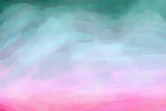 Абстрактная текстура акварели Стоковое Изображение