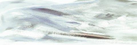 Абстрактная текстура акрила масла на холсте, покрашенной вручную предпосылке СДЕЛАННАЯ СОБСТВЕННАЯ ЛИЧНОСТЬ абстрактная акриловая Стоковое Фото