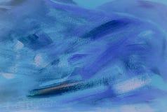Абстрактная текстура акрила масла на холсте, покрашенной вручную предпосылке СДЕЛАННАЯ СОБСТВЕННАЯ ЛИЧНОСТЬ абстрактная акриловая Стоковое фото RF