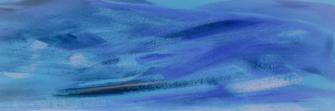 Абстрактная текстура акрила масла на холсте, покрашенной вручную предпосылке СДЕЛАННАЯ СОБСТВЕННАЯ ЛИЧНОСТЬ абстрактная акриловая Стоковое Изображение