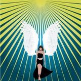 абстрактная текстура ангела Стоковые Фото