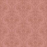 абстрактная текстура Иллюстрация с цветком искусства на розовой предпосылке Стоковое Изображение