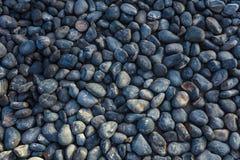 Абстрактная текстура камня моря Камешки моря Стоковые Фотографии RF