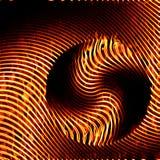 Абстрактная текстура картины предпосылки печати зебры иллюстрации сделанная путем гореть оранжевое пламя огня бесплатная иллюстрация