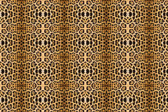 абстрактная текстура кожи леопарда предпосылки Стоковая Фотография RF