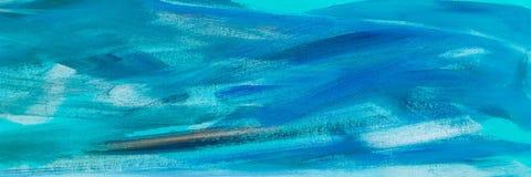 Абстрактная текстура краски масла на холсте, абстрактной картине предпосылки Покрасьте предпосылку текстуры Стоковые Изображения