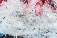 Абстрактная текстура краски на холсте для дизайна Стоковые Изображения