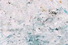 Абстрактная текстура краски на холсте для дизайна Стоковое Фото