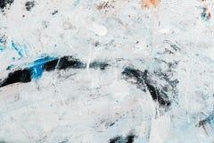 Абстрактная текстура краски на холсте для дизайна Стоковые Изображения RF