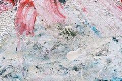 Абстрактная текстура краски на холсте для дизайна Стоковое Изображение RF