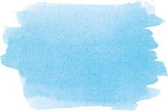 Абстрактная текстура краски руки акварели, Стоковое Изображение