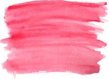 Абстрактная текстура краски руки акварели, Стоковые Фото