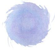 Абстрактная текстура краски руки акварели, Стоковые Изображения