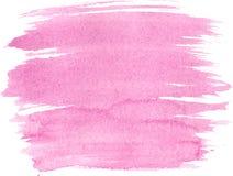 Абстрактная текстура краски руки акварели, Стоковые Фотографии RF