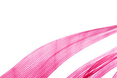 абстрактная текстура красного цвета пера Стоковая Фотография