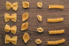 абстрактная текстура макаронных изделия еды предпосылки Стоковая Фотография