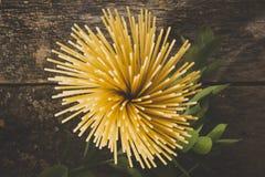 абстрактная текстура макаронных изделия еды предпосылки Взгляд сверху Стоковое Фото