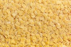 абстрактная текстура макаронных изделия еды предпосылки Стоковое Изображение RF