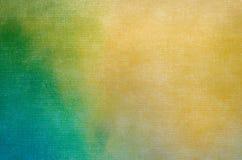 Абстрактная текстура покрашенная на предпосылке холста искусства Стоковые Фото