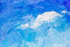Абстрактная текстура предпосылки в голубых цветах Стоковые Изображения