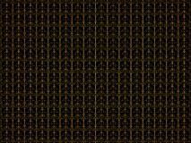 Абстрактная текстура предпосылки с желтой картиной Иллюстрация цифров 3d представляют Стоковое фото RF