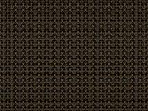 Абстрактная текстура предпосылки с золотой картиной Иллюстрация цифров 3d представляют Стоковое Изображение