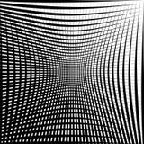 Абстрактная текстура решетки с эффектом искажения Стоковые Изображения