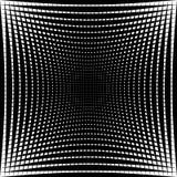 Абстрактная текстура решетки с эффектом искажения Стоковое фото RF