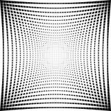 Абстрактная текстура решетки с эффектом искажения Стоковое Фото