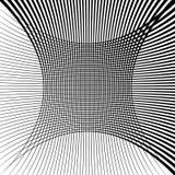 Абстрактная текстура решетки с эффектом искажения Стоковые Фотографии RF