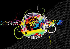 абстрактная текстура состава предпосылки Стоковое Фото