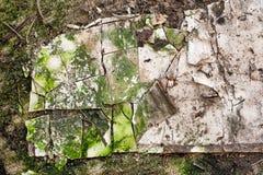 Абстрактная текстура спада здания Стоковое Изображение RF