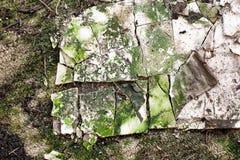 Абстрактная текстура спада здания Стоковая Фотография