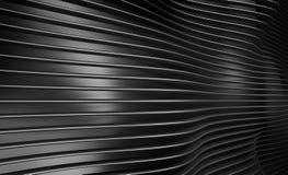 Абстрактная текстура стены волны Стоковое Изображение RF