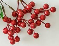 Абстрактная текстура с искусственными ягодами Стоковые Фото