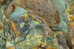 Абстрактная текстура 11 утеса Стоковая Фотография