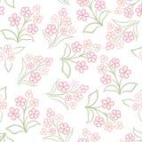 Абстрактная текстура цветка свирли Стоковое Изображение
