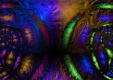 абстрактная текстура Стоковая Фотография RF
