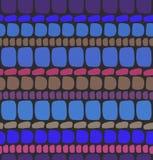 Абстрактная темносиняя безшовная кирпичная кладка картины Стоковые Фото