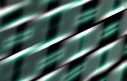 абстрактная темнота предпосылки Черные, белые нашивки на зеленом цвете стоковые фото