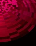 абстрактная темнота предпосылки - красное техническое Стоковые Изображения