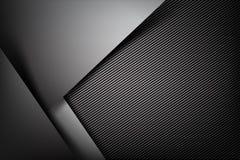 Абстрактная темнота предпосылки с illust вектора текстуры волокна углерода бесплатная иллюстрация