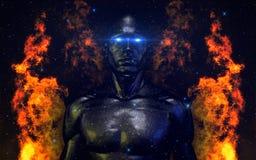Абстрактная темнота V2 01 иллюстрация штока