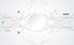 Абстрактная технологическая концепция связи предпосылки Стоковое Изображение RF
