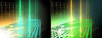 абстрактная технология данных Стоковое фото RF